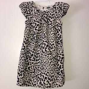 EUC Baby Gap Girls animal print corduroy dress 4